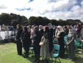 فيديو وصور.. وزيرة الهجرة تشارك فى الجنازة الرسمية لشهداء حادث مسجدى نيوزيلندا