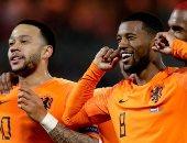 كل أهداف الخميس.. رباعية هولندا وثلاثية بلجيكا فى روسيا بتصفيات اليورو