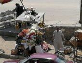 شكاوى من انتشار الباعة الجائلين فى شوارع زهراء مدينة نصر