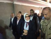 فيديو وصور.. وزيرة الصحة تتفقد مستشفى بورفؤاد العام وتقرر تسليمه بعد 53 يوما