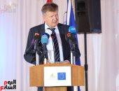 فيديو وصورو.. سفير الاتحاد الأوروبى: 120 مليون يورو لدعم الأمن المائى بمصر