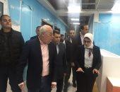 فيديو وصور.. وزيرة الصحة تتفقد مستشفى أطفال النصر لعلاج الأورام ببورسعيد