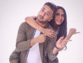 """على طريقة أبو العروسة.. محمد مهران يعتذر لخطيبته """"مى"""": بحبك وأنا غلطت فى حقك"""