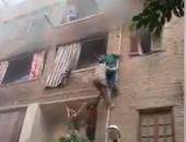 السيطرة على حريق داخل شقة سكنية فى أبو النمرس دون إصابات