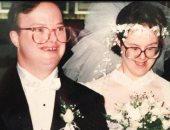 """حب لا يعرف المستحيل.. قصة نجاح بين زوجين من """"متلازمة دوان"""" عمرها 30 عاما"""