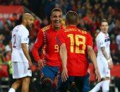 إسبانيا ضد النرويج.. الماتادور يتقدم بهدف رودريجو فى الشوط الأول