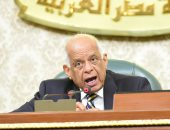"""رئيس البرلمان ممازحا أسامة العبد: """"عمرك ما قعدت على قهوة!.. كنت فين"""""""