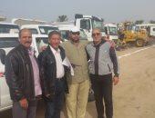 جنوب سيناء تجري تجربة اصطفاف المعدات لمواجهة الكوارث والأزمات