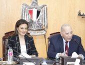 صور.. وزير العدل يلتقى وزيرة الاستثمار لبحث تيسير بعض إجراءات الإستثمار