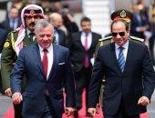 السيسى يؤكد لعاهل الأردن الحرص على استمرار التنسيق والتشاور عال المستوى