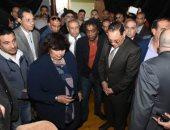 صور.. وزيرة الثقافة تفتتح قصر ثقافة ديرب نجم بعد تطويره بتكلفة 4 ملايين جنيه