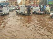شكوى من غرق بعض الشوارع بحى العقاد بأسوان بالصرف الصحى