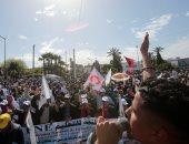 صور.. احتجاجات جديد للمعلمين المغاربة للمطالبة بتحسين ظروف العمل