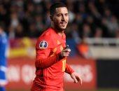 """هازارد """"المصاب"""" يدعم قائمة منتخب بلجيكا فى تصفيات يورو 2020"""