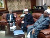 فيديو وصور.. وزير الأوقاف يصل المنيا لافتتاح الدورة التدريبية للأئمة