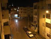 أمطار رعدية مفاجئة على سواحل مدينة العريش.. وانخفاض بدرجات الحرارة