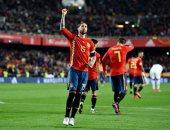 كل أهداف السبت.. ثنائية إسبانيا وإيطاليا وتعادل مصر والبرازيل