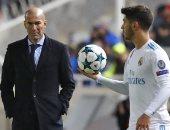 زيدان يحسم الجدل حول مستقبل أسينسيو مع ريال مدريد