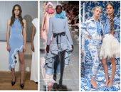 اختارى أزياء الربيع من أسابيع الموضة.. الكورشية وألوان الميتالك تتصدر  2019