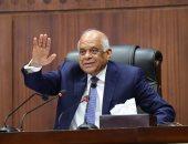 شاهد رد عبد العال على أسئلة النواب حول تعديلات الدستور