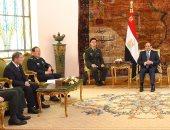 وزير دفاع الصين يؤكد للسيسى حرص بكين على تطوير علاقاتها الاستراتيجية مع مصر