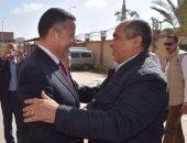 محافظ بنى سويف يستقبل وزير الزراعة واستصلاح الأراضى