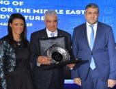 تكريم زاهى حواس فى احتفالية وزراء السياحة العرب