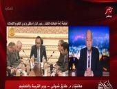 طارق شوقى: تطوير التعليم قرار دولة يصب فى صالح مستقبل أفضل للنشء