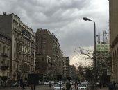 قارئ يشارك بصورة المطر بشارع رمسيس: مطر خفيف غسل الشوارع
