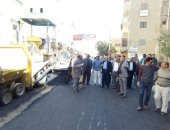 محافظ المنيا: الانتهاء من رصف 3 شوارع بمدينة سمالوط بتكلفة 4.5 مليون جنيه
