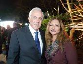 """""""يوم حلو جدا"""".. هكذا احتفلت ليلى علوى مع السفير اليونانى باستقلال بلاده"""