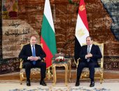 صور.. رئيس بلغاريا: ندعم دور السيسى فى إقرار السلام وأدعوه لزيارة بلادنا
