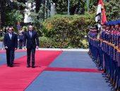 صور.. الرئيس السيسى يلتقى نظيره البلغارى ويتحدثان بعد قليل إلى وسائل الإعلام