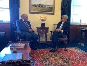 صور..لقاءات مكثفة لوزير الخارجية مع أعضاء الكونجرس الأمريكى بمجلسيه