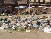 اضبط مخالفة.. القمامة تحاصر ميدان سعد زغلول بالمحلة
