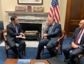 سامح شكرى: تجمعنا مصلحة مشتركة مع أمريكا لتحقيق الاستقرار فى المنطقة