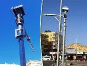 امشى عدل.. الكاميرات تراقب حركة السيارات فى محيط تحويلات محور جوزيف تيتو