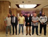 الكاراتية يدعو صبحى وحطب لحضور حفل افتتاح البطولة العربية