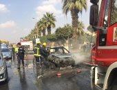 القبض على عاطل أشعل النيران فى سيارة زوج طليقته بالمطرية