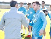 أخبار ميسي اليوم عن عودة ليو لتدريبات برشلونة بعد تعافيه من الإصابة
