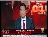 """وزير التعليم لـ""""خالد أبو بكر"""": نبنى منظومة لـ 50 عامًا مقبلة"""