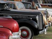 """صور.. معرض للسيارات """"الأنتيكه"""" فى القاهرة"""