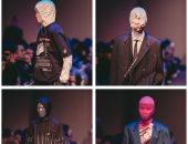 أقنعة للوجه بالورود فى عروض أزياء سيول بكوريا 2019