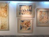 """شاهد.. معرض """"مريم"""" للفنانة مريم عبد النبى بمركز الجزيرة للفنون"""