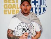 ميسي يحصد جائزة أفضل هدف فى تاريخ برشلونة.. فيديو