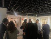 """افتتاح معرض """"مريم"""" لـ دينا عبد النبى بمركز الجزيزة للفنون.. صور"""