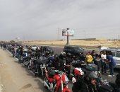 ماراثون للدراجات النارية يضم 1000 مشارك احتفالا بيوم اليتيم.. صور