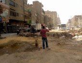 شكوى من إتلاف الرصف بالشارع الجديد فى شبرا الخيمة