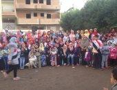 صور.. أمناء مدرسة شعشاع الإعدادية يكرمون 95 طالبا وام مثالية بالمنوفية