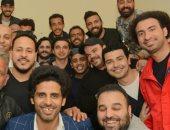 فيديو.. نجوم مسرح مصر يفاجئون على ربيع بتورتة فى عيد ميلاده